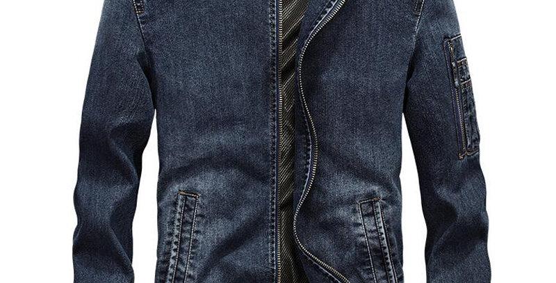 Denim Jacket Men Jaqueta Masculina Chaqueta Hombre Brand
