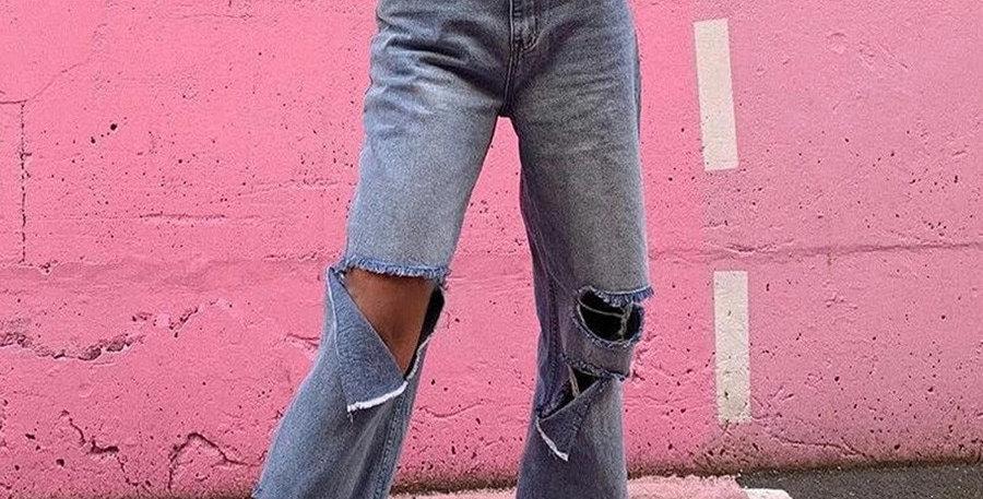 Denim Pants Womens