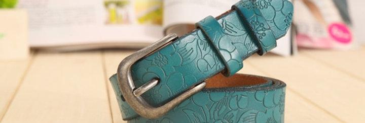 Belts Women Thin Genuine Leather