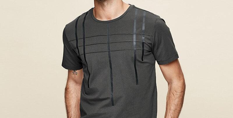 Cotton Men's Short Sleeve T Shirt