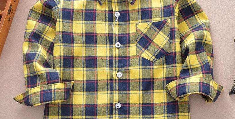 Shirt 100% Cotton Kids 2-12T