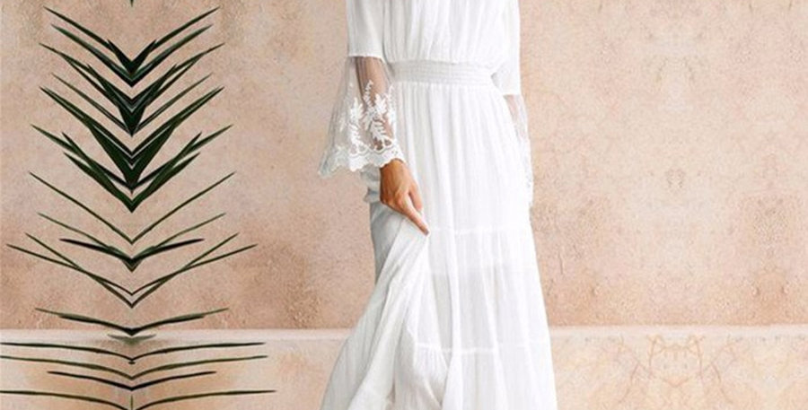 Long Dress Cotton