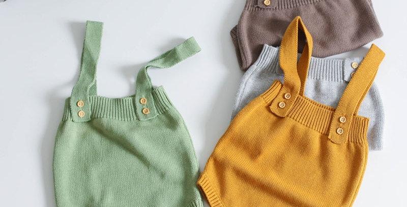 Knitting Jumpsuit 0-24M