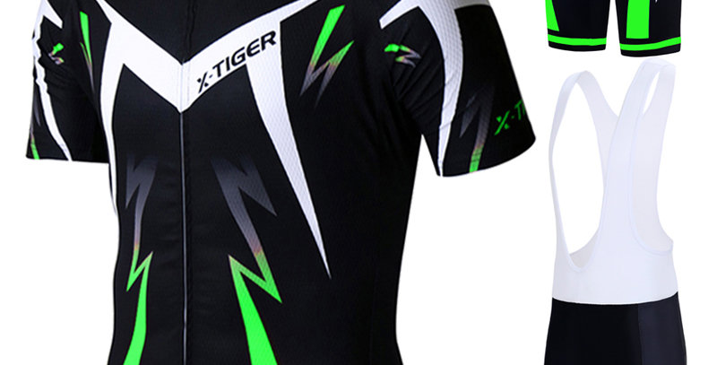X-Tiger Pro Cycling Jersey Set Wear Mountain Bike Clothes