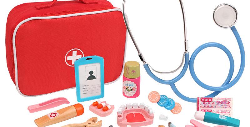 Wooden Children Doctor Toys