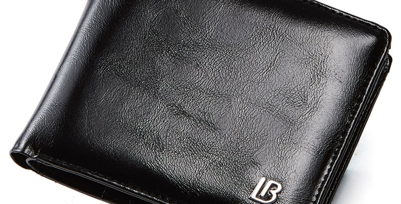 Genuine Leather Wallet Men New Brand Purses