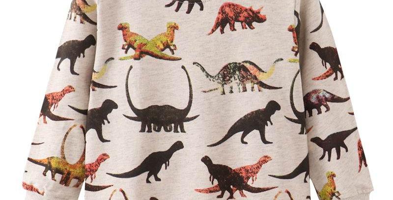 Sweatshirt for Boy Dinosaur 24M-7T