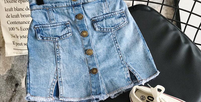 Jeans Skirt 3-7T