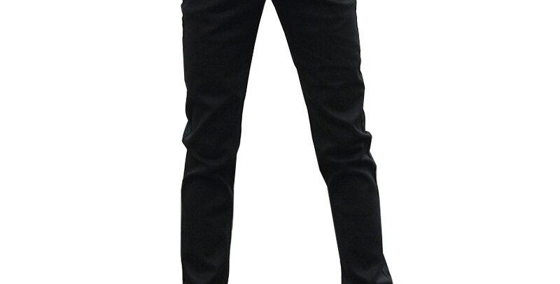 KSTUN Jeans Men Stretch Solid Black Skinny Slim Casual Pants