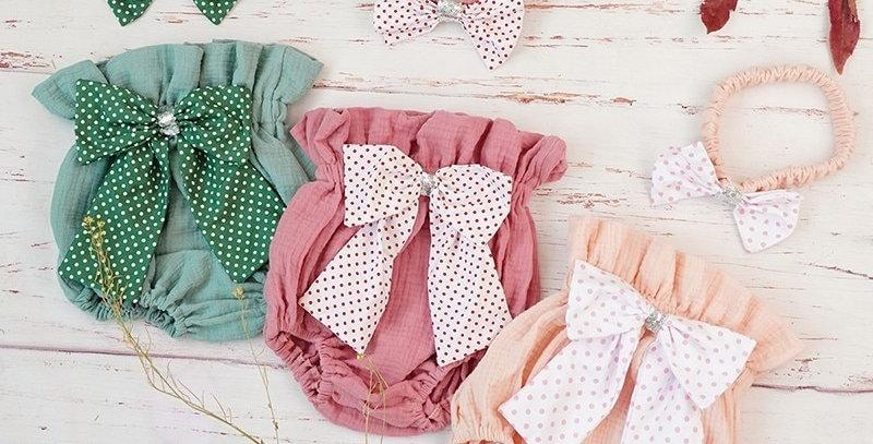 Cotton Shorts Newborn 6-24m