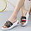 Thumbnail: Women Slippers Flat Shoes Leather