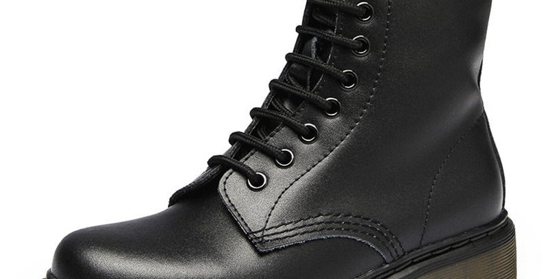 Genuine Leather Shoes for Winter