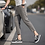 Thumbnail: Casual Ankle-Length Plaid Pant