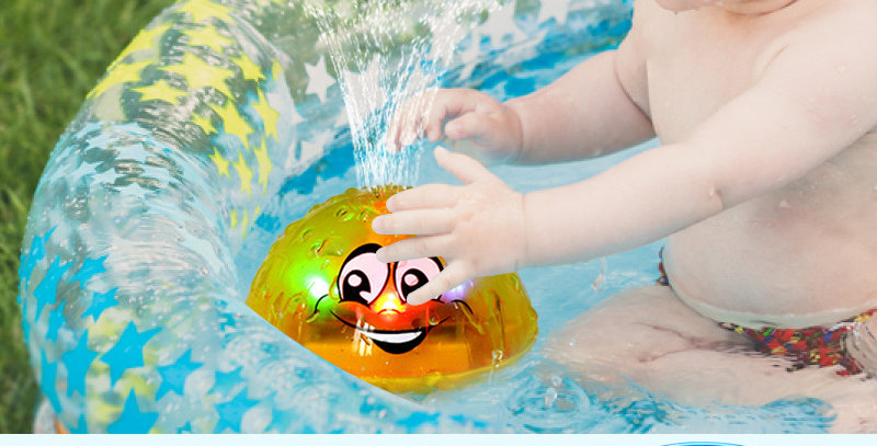 Spray Water Ball LED Lights Foat