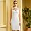 Thumbnail: Backless Bandage Dress Hollow Out Midi Evening Dresses