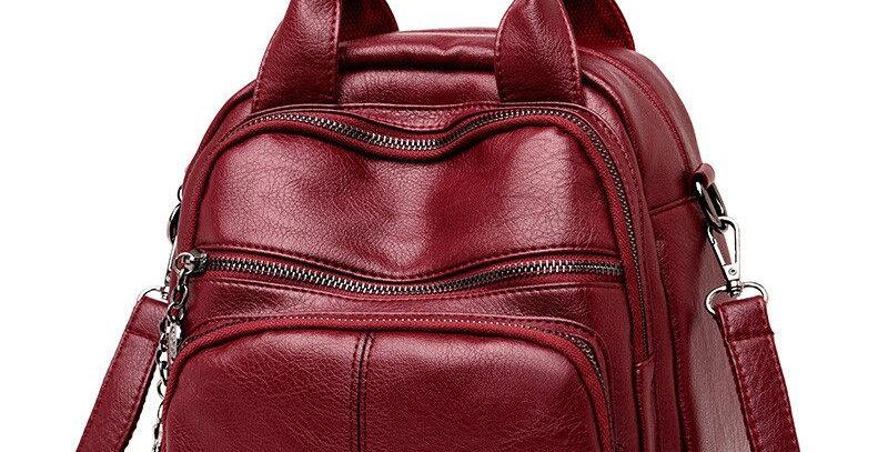 Soft Genuine Leather Female Bag