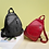 Thumbnail: 3 In 1 Backpack Sac a Dos Soft Oiled Leather Women Backpack