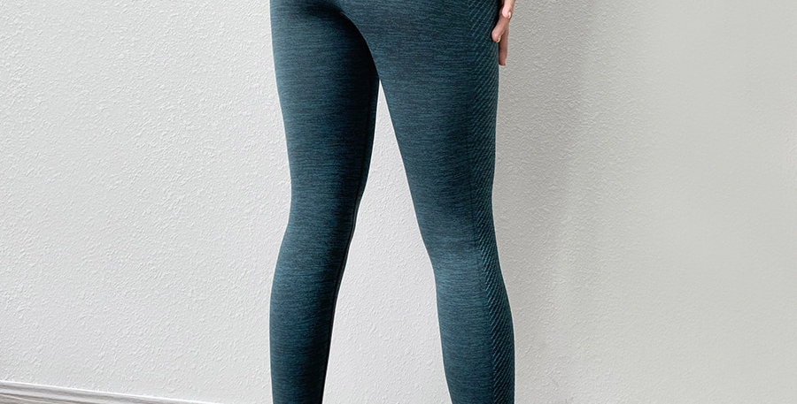 BINAND Seamless Gym Leggings High Waist Yoga Pants Lycra