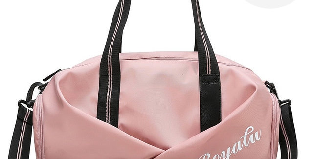 Women Gym Bag Sports Fitness Handbag Training Bag