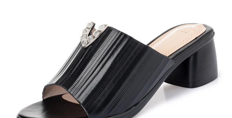 Sandals Women Genuine Leather