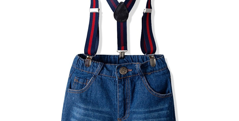 Denim Short Jeans 2Pcs Set 18M-7T