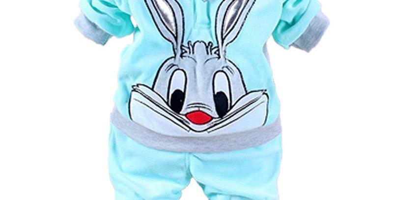 Newborn Hoodie+Pant Sets 6-24M