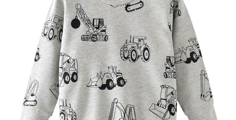 Sweatshirt for Kids 2pcs 24M-7T