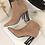 Thumbnail: Women Flock Leather Short Boots