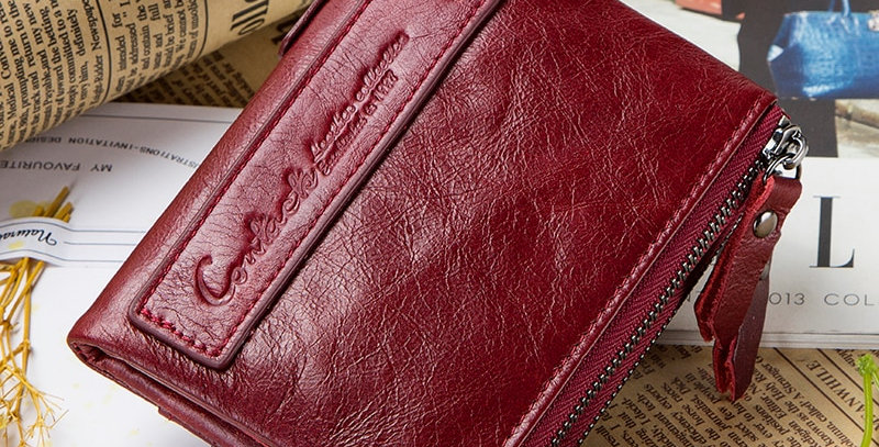 Wallet Women Genuine Leather