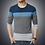 Thumbnail: Casual Men's Sweater O-Neck Striped
