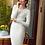 Thumbnail: Casual V-Neck Women Knitted Dress