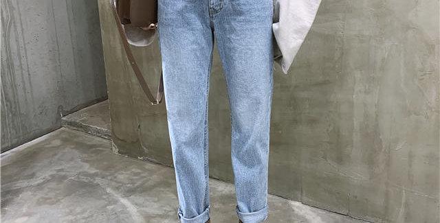 Women's Jeans Streetwear Ladies Slouchy Jeans Denim