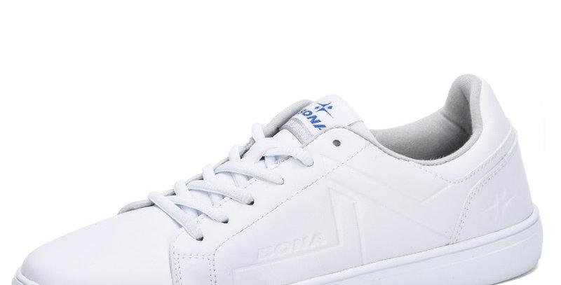BONA Men Skateborading Shoes Synthetic Leather Lace Up