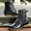 Thumbnail: Boot With Waterproof Zipper Rubber Sole