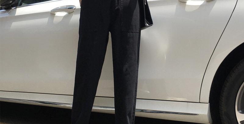Jeans Women Chic Elegant  High-Quality