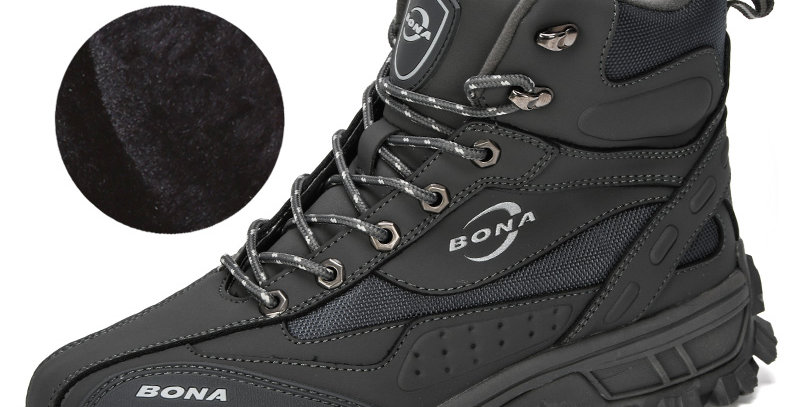 BONA Designers Action Leather Shoes Climbing & Fishing Shoes