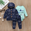 Thumbnail: Fleece+romper+pants Newborn 6-24M