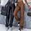 Thumbnail: Faux Leather High Waist Straight Pants