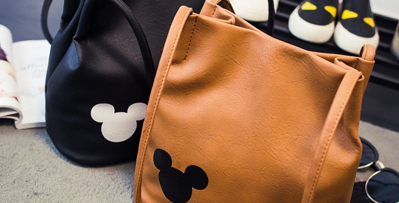 Disney Mickey Mouse Cartoon Bucket Bag