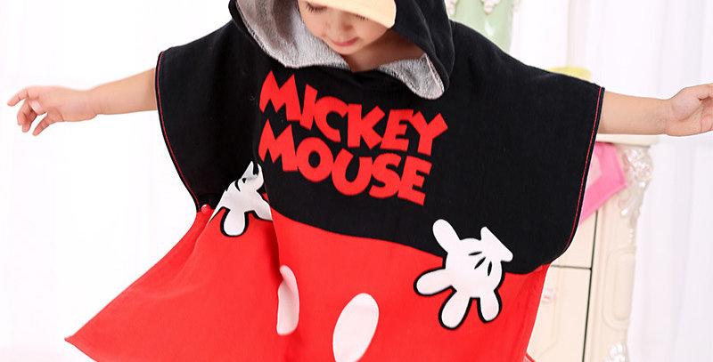 Disney Mickey Mouse Baby Bath Towel
