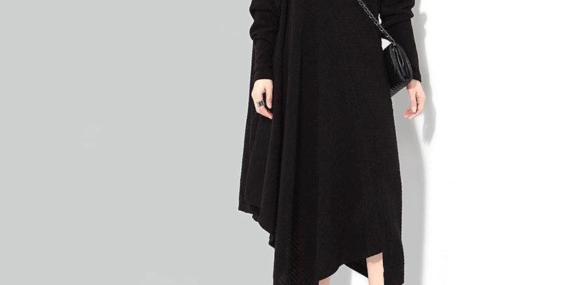 Bonhoeffer Asymmetrical Scarf Dress