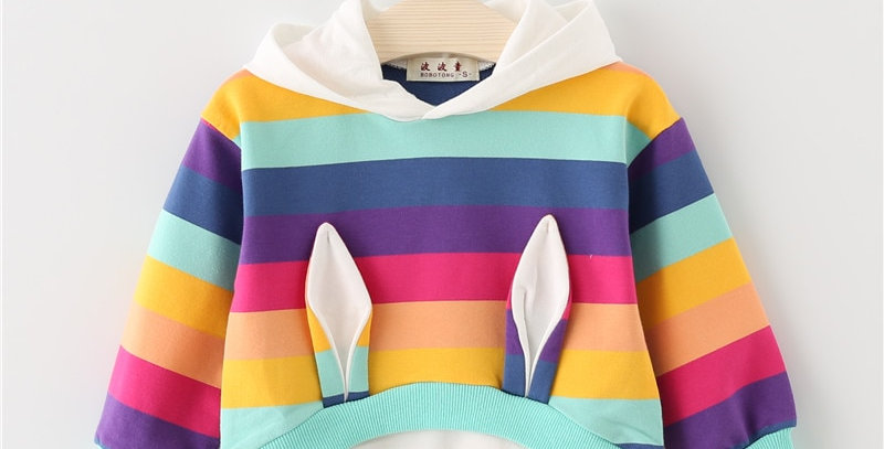 Cotton Hooded Sweatshirt 12M-5T