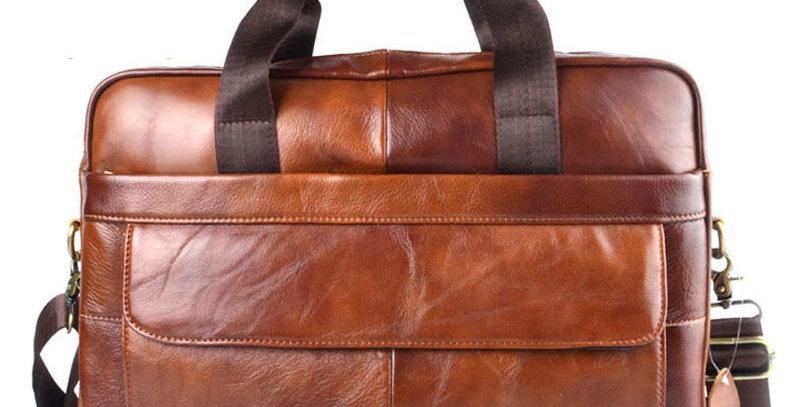 AETOO Genuine Leather Laptop Bag Business Handbags