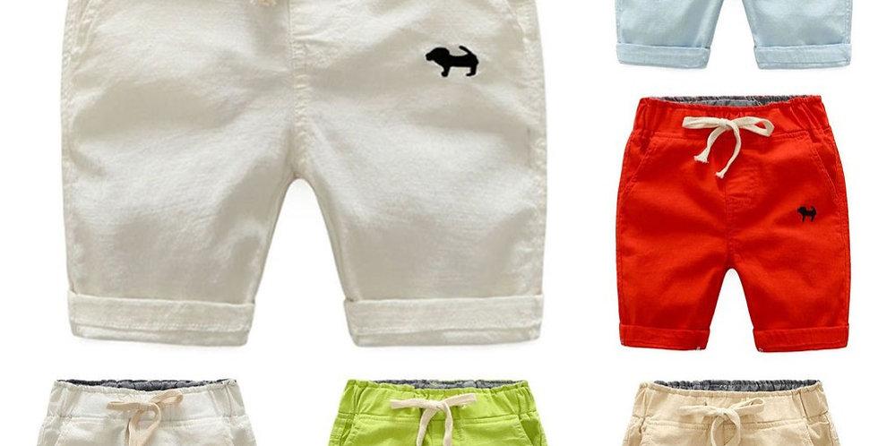 Boy Shorts Elastic Waist 2T-6