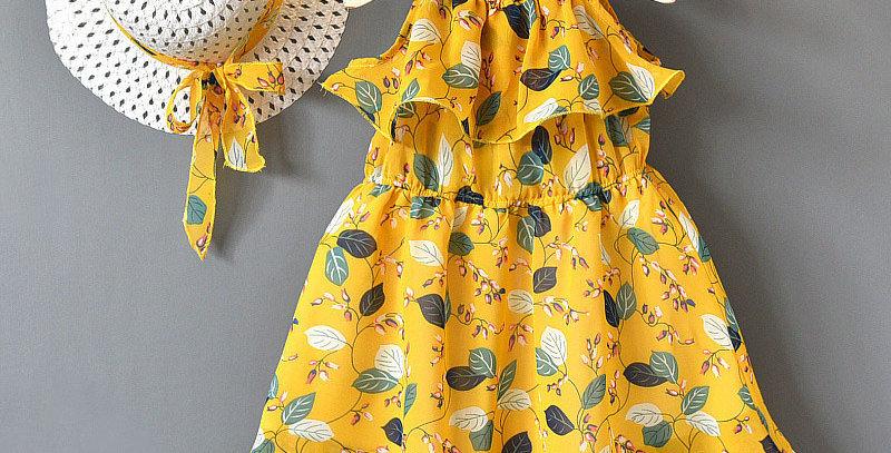 Girls Dresses Chiffon 2-7T