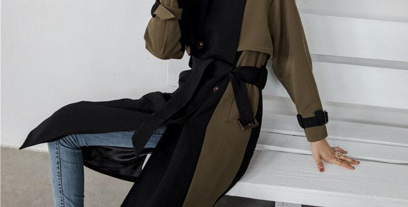 Female Double-Breasted Slim Coat