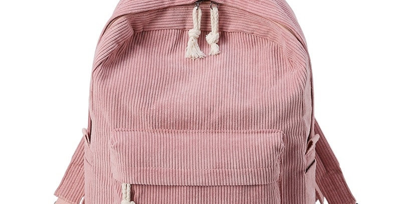 Soft Fabric Backpack for Teenage Girls