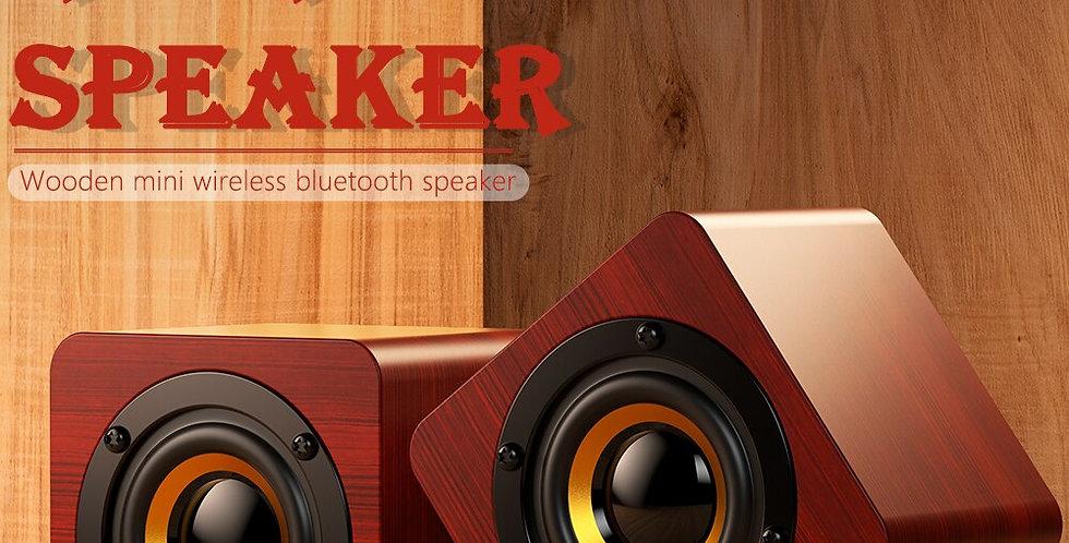 Round Portable Mini Wireless Bluetooth Speaker  4.2