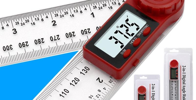 0-200mm 0-300mm Digital Meter Angle Inclinometer Angle Digital Ruler