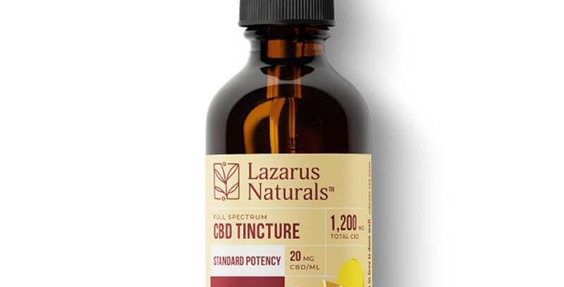 Lazarus Naturals - CBD Tincture - YUZU Series Full Spectrum Oil - 300mg-6000mg